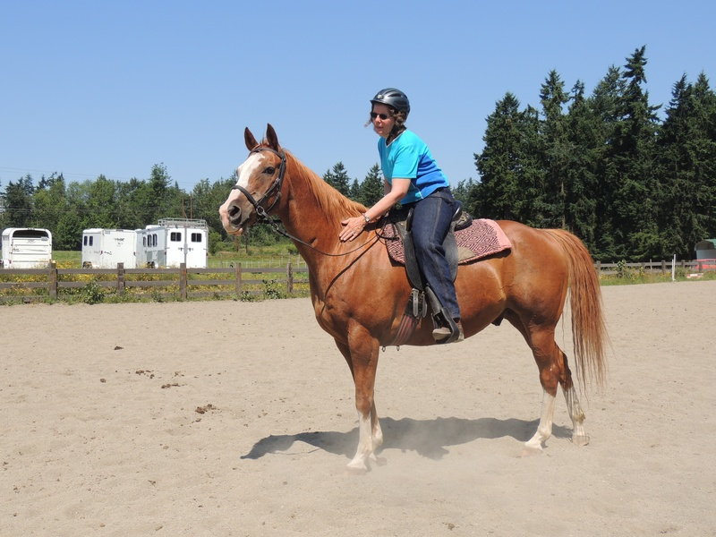 Riding is good for the soul!